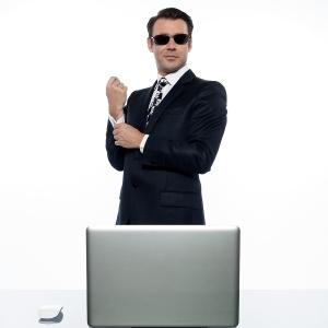 Egotistical executive