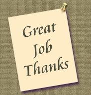 Thank you employee appreciation