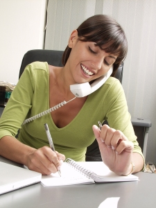 bigstock-Optimist-hispanic-businesswoma-27000269