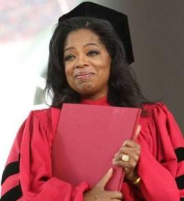 Oprah at Harvard Commencement 2013