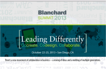2013 Blanchard Summit Leading Differently Feature