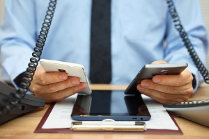Busy executive technology overload communication