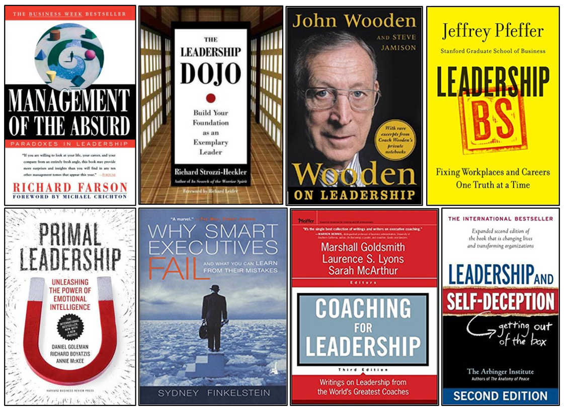 8 Top Leadership Books for Coaches