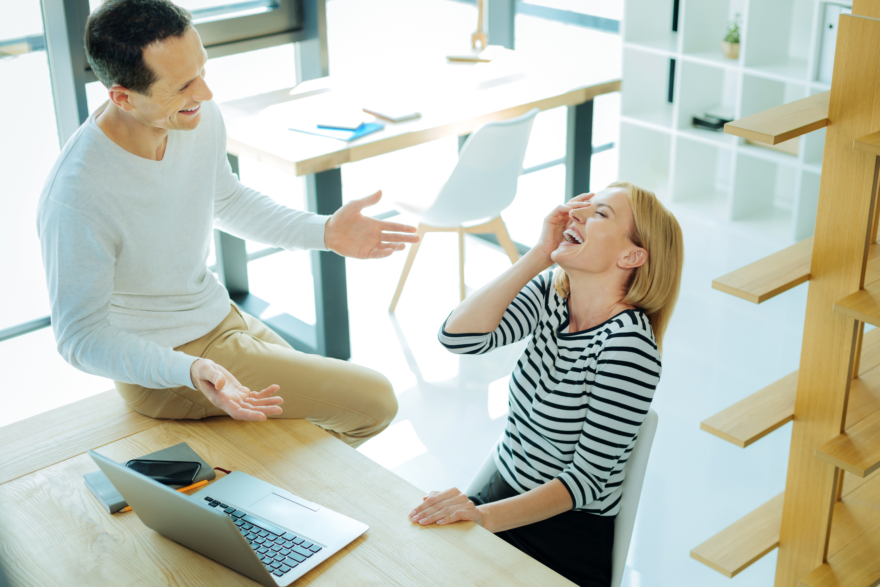 People Think You're Having an Affair at Work? Ask Madeleine